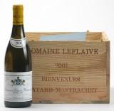 5 fl. Bienvenues Bâtard-Montrachet Domaine Leflaive 2001