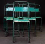 Vintage bar / caféstole i jern (6)