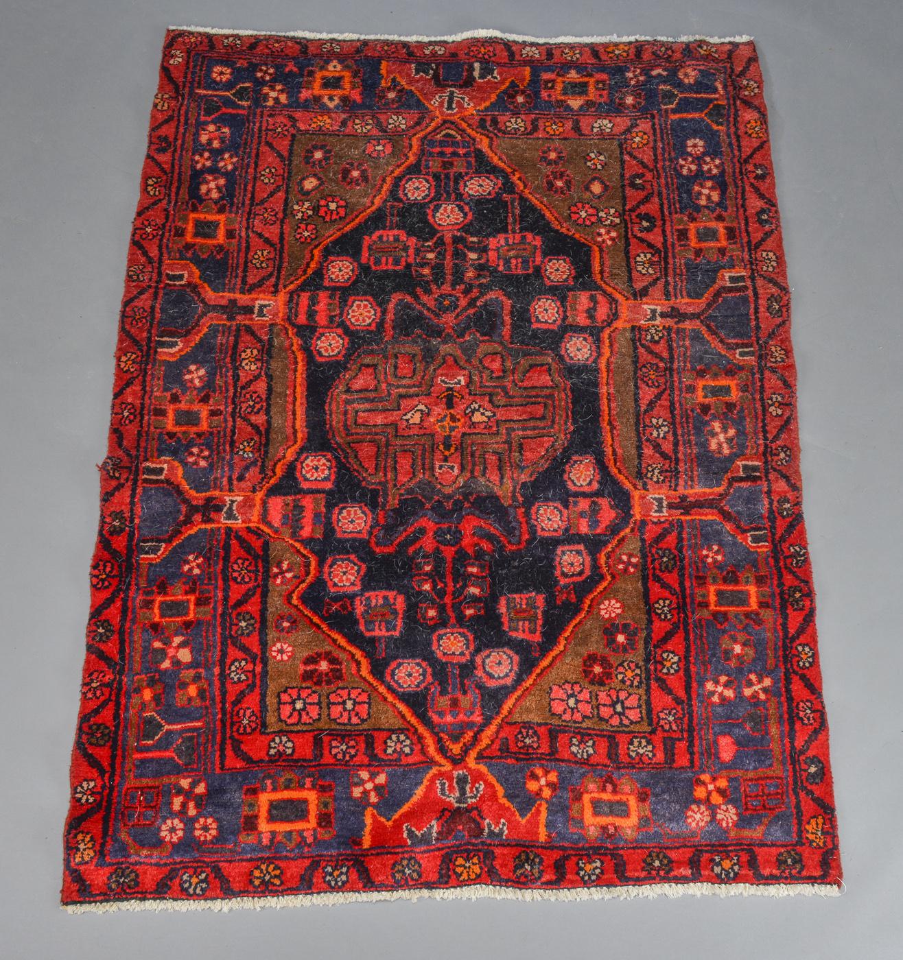 Persisk Nahavand tæppe. 169x125 cm - Persisk Nahavand tæppe. Uld på bomuld. 169x125 cm