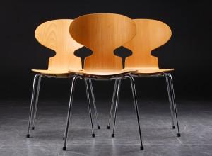 Arne Jacobsen Stoel : Slutpris för arne jacobsen. tre stol myren