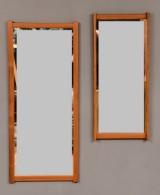 Speglar 2 st, Teak Sverige, Nybrofakriken(2)