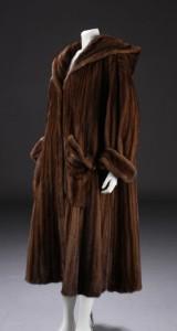 Saga mink fur coat, by Royal Scanglow mink