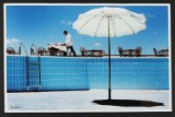 Claus Bjørn Larsen. Swimming pool, Egypten. Signeret Foto.