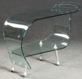 Massimo Iosa Ghini trolley / side table for Fiam, Made in Italy