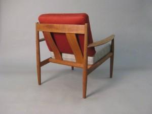 Teak Sessel Dänisches Design Grete Jalk Für France Son 1963