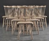 Carl Malmsten, Stolab. 10 chairs, 'Lilla Åland' (10)