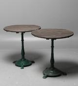 Byarums Bruk, ett par cafébord, 2 st