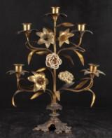 Fransk kandelaber för fem ljus, 1800-tal