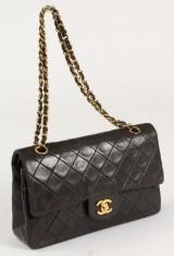 Chanel classic double flap medium bag 1994-1996