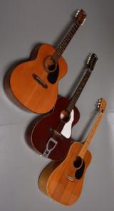 Samling guitarer (3)