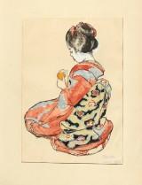 Emil Orlik (1870-1932), Geisha, 1900