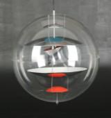 Verner Panton. VP-Globe pendant, large model Ø 60 cm.