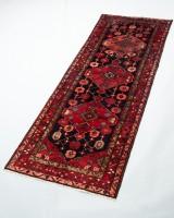 Hamedan tæppe, Persien, ca. 305 x 110 cm