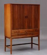 Ole Wanscher, cabinet, Brazilian rosewood