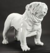 PopArt skulptur i form af Bulldog