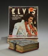 Samling Elvis Presley LP plader. (ca. 45 stk.)