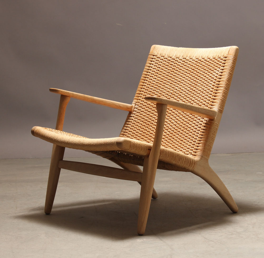 Hans J. Wegner, lounge chair, model CH 25, Carl Hansen & Søn
