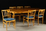 Carl Malmsten. 'Talavid' dining room set (7)
