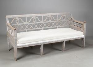 ware 3034482 gustavianische bank sofabank mit. Black Bedroom Furniture Sets. Home Design Ideas