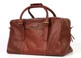 Second May. Rejsetaske i brunt læder