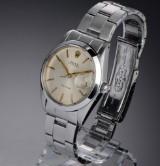 Rolex Oysterdate Precision. Vintage men's watch, steel with date, c. 1960s