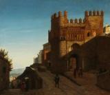 Heinrich Hansen. 'Puerta del Sol i Toledo'