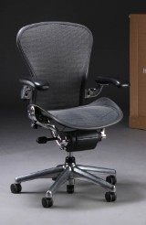 Donald Chadwick & William Stump: Multi-adjustable office chair, model Aeron, size B
