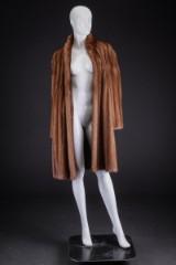 Birger Christensen. Mink coat, Canadian 'Wild Mink'