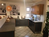 Invita udstillings køkken, model Steelline