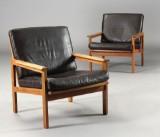 Illum Wikkelsø. Par lænestole model Capella (2)