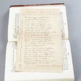 Med egenhändigt brev av Lindeberg
