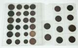 Samling mynt, 17/1800-tal (34)