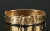 Armring af 14 kt guld, 30,4 gr.