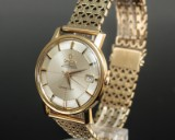 Omega Constellation automatic, 18 k. guld , pie pan skive