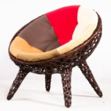 Lounge chair from the Satellite collection for Murillo