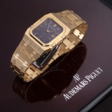 Audemars Piguet 'Royal Oak Rectangular'. Herreur i 18 kt. guld