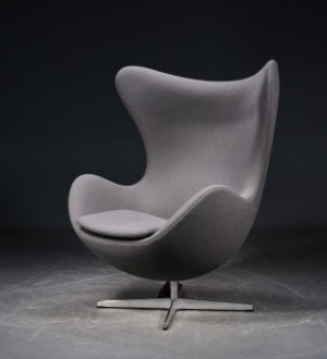 Arne Jacobsen Das Ei Hallingdal Wolle Lauritzcom