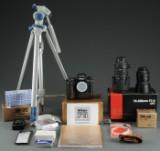 Nikon F5 med div. udstyr