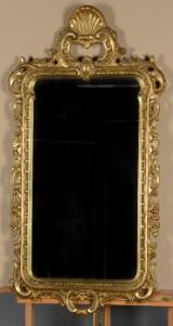 Spejl i rokokoform