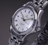 Omega Seamaster 120M ladies' watch, steel,  two-tone dial