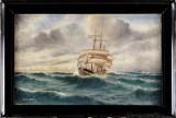Oidentifierad konstnär, marinmålning