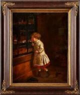 John Levack oljemålning