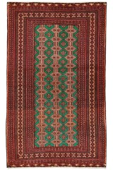 Persisk Beluch bedetæppe, 200X120 cm.