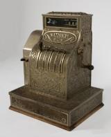 Kasseapparat, fremstillet hos National, omkring 1900