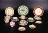 Samling keramik, kaffestel m.m. (21)