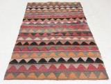Orientalisk flatvävd matta, Harsin Kelim, 205x112