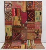 Matta, Kelim patchwork 300x200.