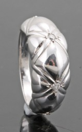 Diamond ring in 18kt approx. 0.10ct, By Kapriss