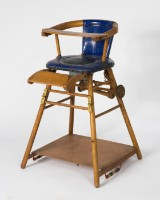Stuhl / Kinderstuhl / Hochstuhl, Erbacher Erzeugnis, 1950er Jahre