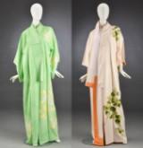 To kimonoer af silke, ca. 1950-60'erne (2)